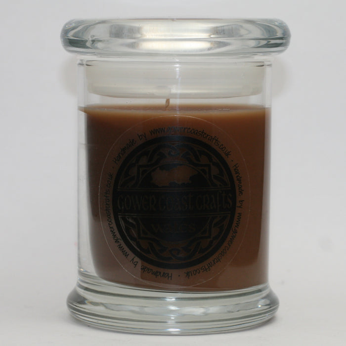 Coffee Mocha Handpoured Highly Scented Medium Candle Jar