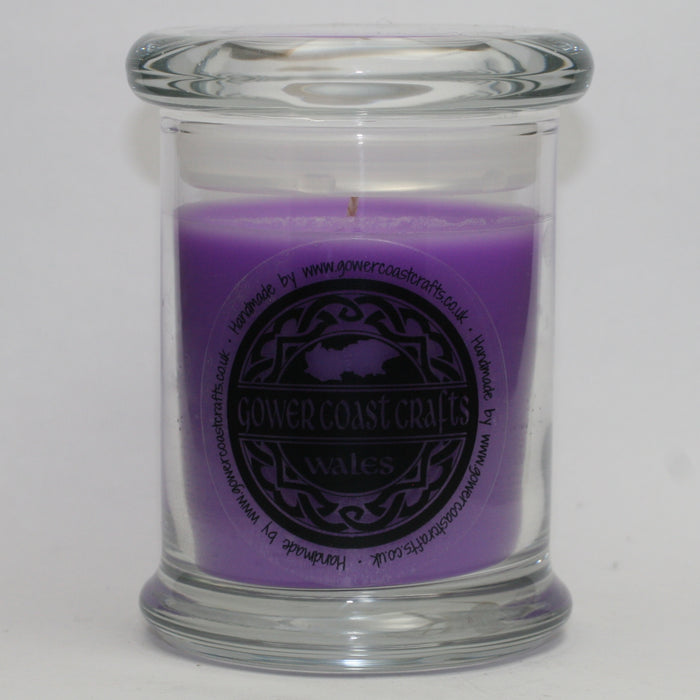 Black Cherry Handpoured Highly Scented Medium Candle Jar