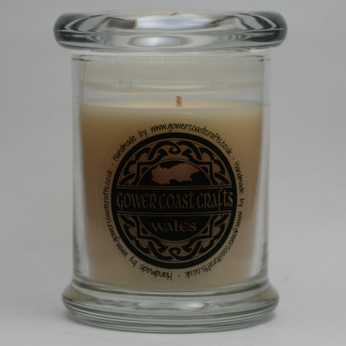 Fresh Linen Handpoured Highly Scented Medium Candle Jar