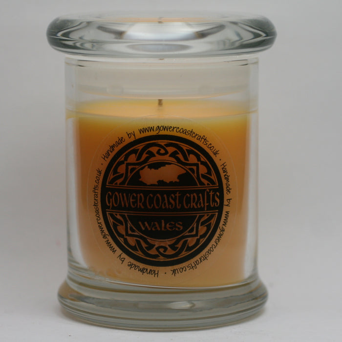 Mango & Lime Handpoured Highly Scented Medium Candle Jar