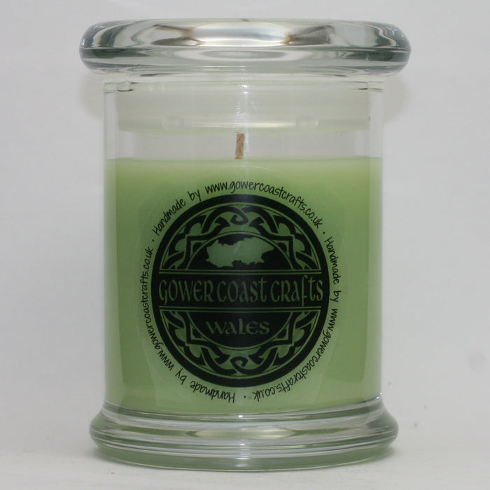 Crunchy Green Apple Handpoured Highly Scented Medium Candle Jar