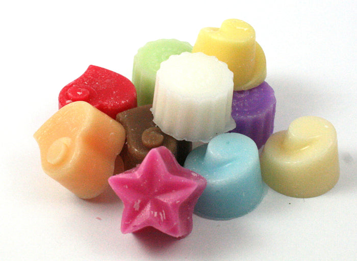 Assorted Scents Handpoured Highly Scented Wax Melts / Tarts - 10 x 5g