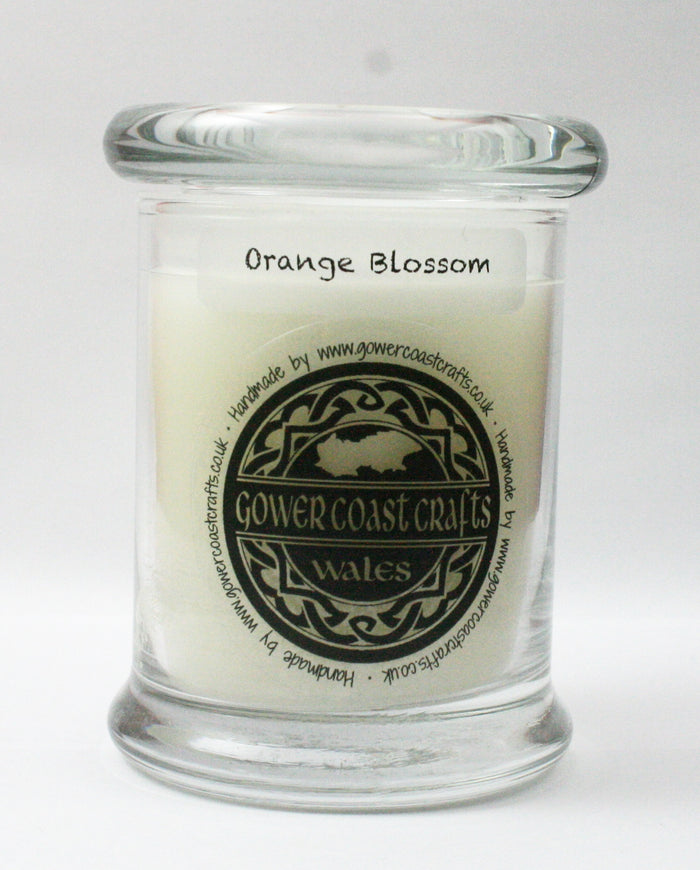 Orange Blossom Handpoured Highly Scented Medium Candle Jar