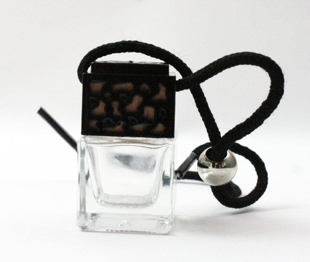 Leather inspired Scented Car Diffuser/Air Freshener