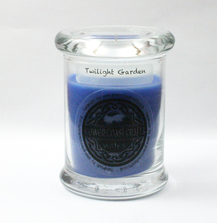 Zoflo Twilight Garden Handpoured Highly Scented Medium Candle Jar