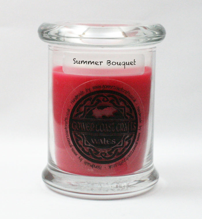 Zoflo Summer Bouquet Handpoured Highly Scented Medium Candle Jar