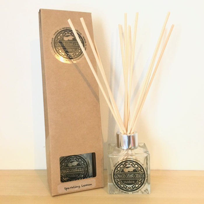 Comfortable Blue 100ml Reed Diffuser