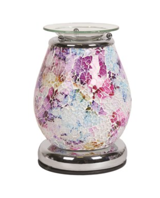 Apollo Touch Mosaic Electric Wax Warmer/Burner with a pack of 10 FREE Scented Melts (3130)