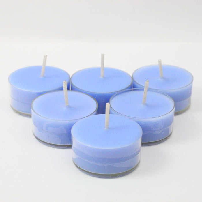 Zoflo Bluebell Woods Handpoured Highly Scented Tea Light Candles Tealights pack of 6