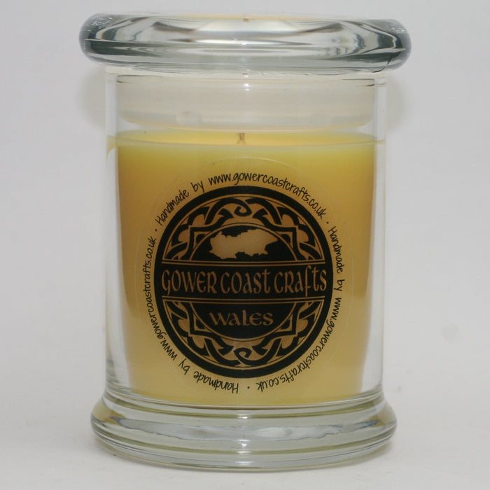 Lemongrass & Ginger Handpoured Highly Scented Medium Candle Jar