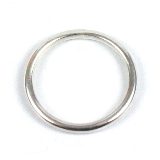 Solid Silver 925 Handmade 1.8mm Stacking Ring
