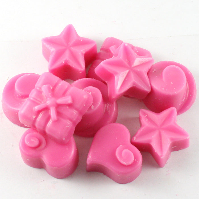 Scent of the Week - Strawberry & Rhubarb Handpoured Highly Scented Wax Melts / Tarts - 10 x 5g