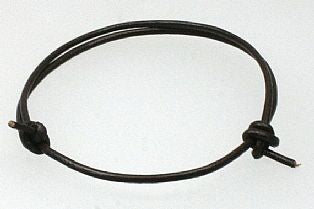 Handmade Leather Thong Bracelet