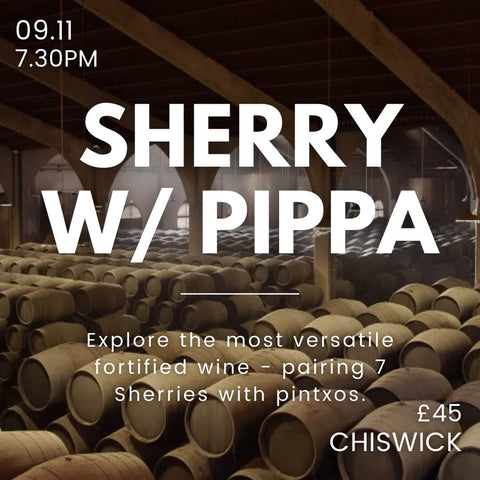 Chiswick Event - Sherry Tasting on the 9th Nov.