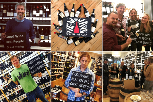 New Wave South Africa producers at the Good Wine Shop