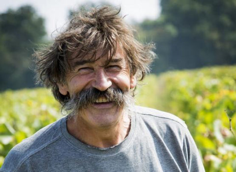 Jo Landron - producer in the Muscadet in the Loire Valley