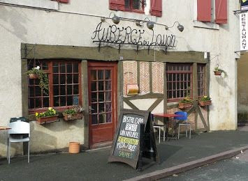 L'auberge du Layon in the Loire Valley