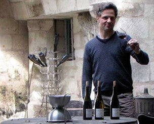 Mathieu Vallee from Chateau Yvonne in Saumur
