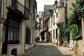 The streets of Chinon
