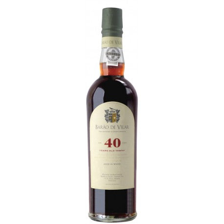 Barao de Vilar 40 year old Tawny Port 500ml The Good Wine Shop