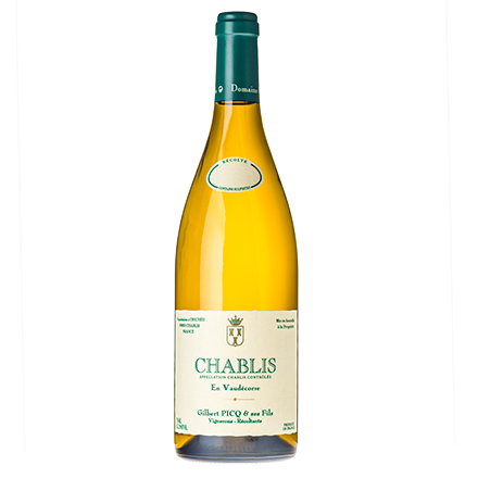Gilbert Picq, Chablis En Vaudecorse 2016 The Good Wine Shop