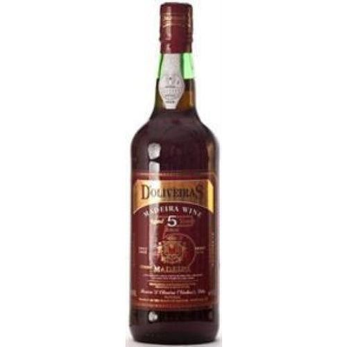 DOliveiras 5 year old Sweet Madeira NV - Wine