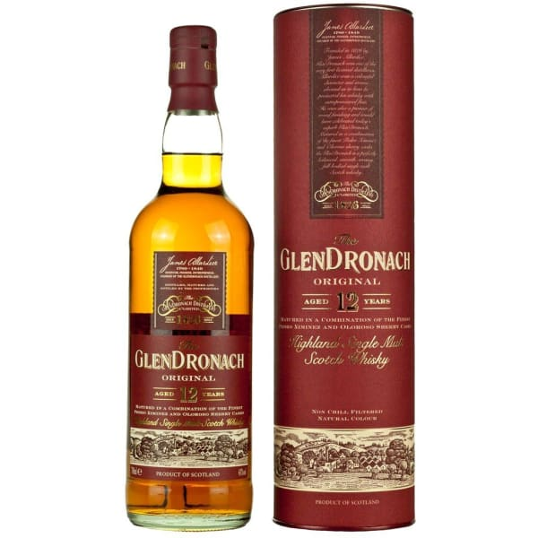 Glendronach - 12 Year Old Highland Single Malt - Spirits