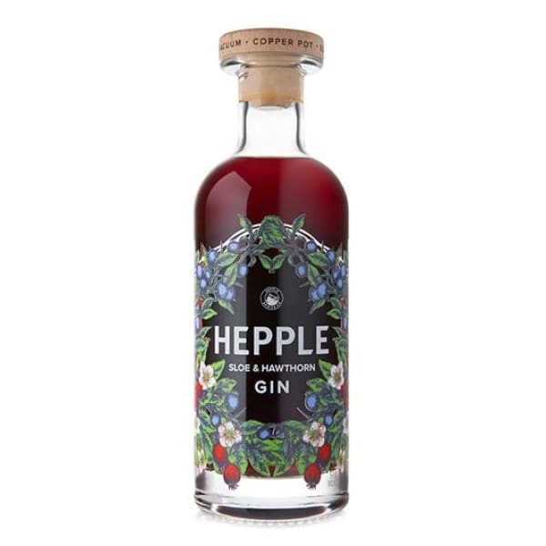 Hepple Sloe and Hawthorn Gin - Spirits