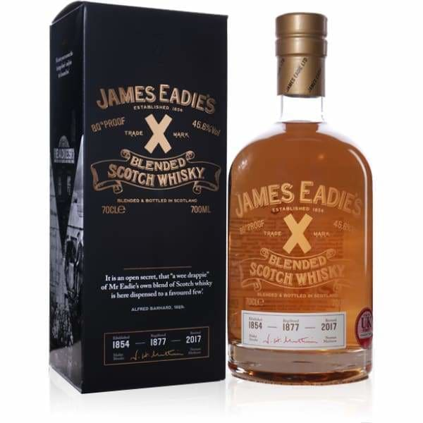 James Eadie Trade Mark X Blended Scotch Whisky - Spirits