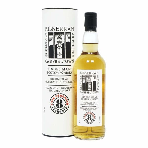 Kilkerran - 8 Year Old Cask Strength - Spirits