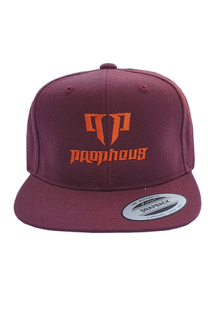 PROPHEUS Kids Classic Snapback Cap Red/Orange