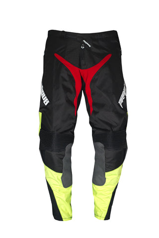 Bike Pants Tough Mudder neon