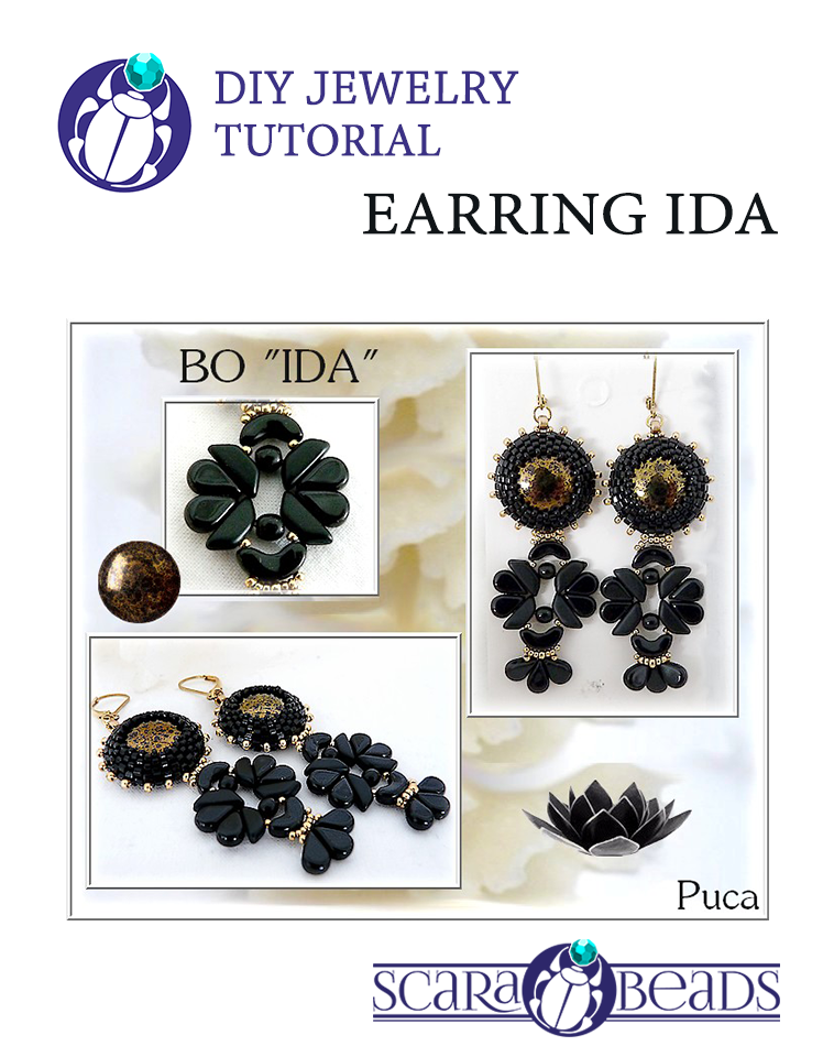"Handmade: Earrings ""IDA"" by Puca"