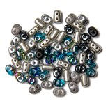 2-Loch Seed Beads
