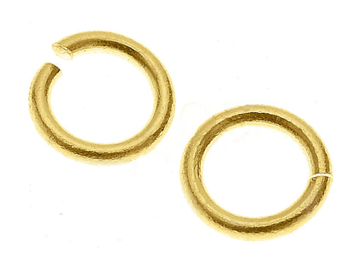 1 St. Jump Ring 5,9mm, Vergoldet