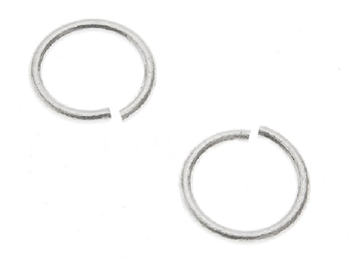 1 St. Jump Ring 4,6mm, Versilbert