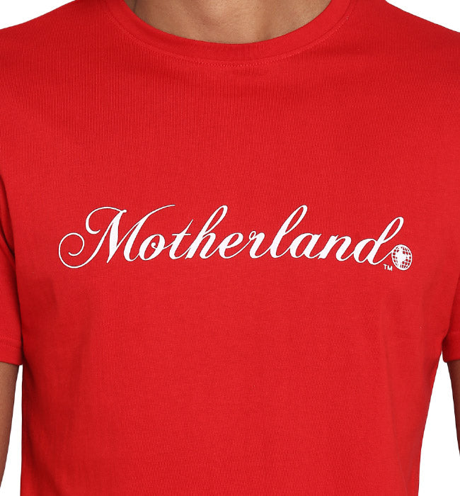 Motherland Red Tee
