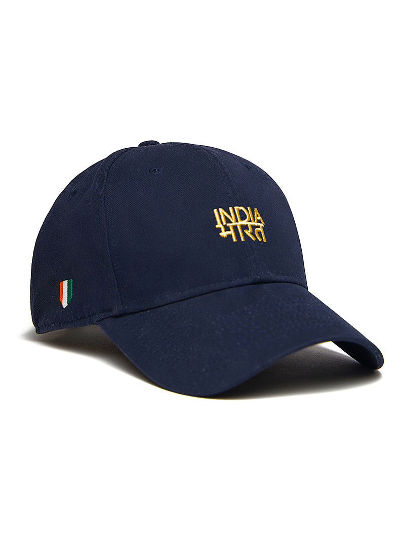 Bharat-India Cap - Navy