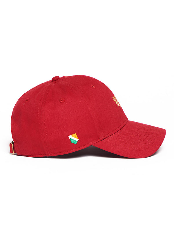 Bharat-India Cap - Red