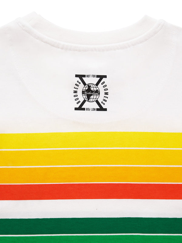 Bharat-India Striped T-shirt - Not for Boomers