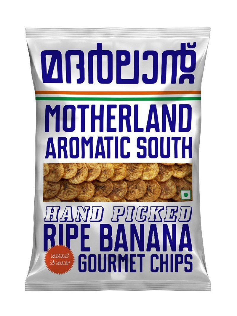 Motherland Aromatic South Banana & Tapioca Chips - Pack of 5