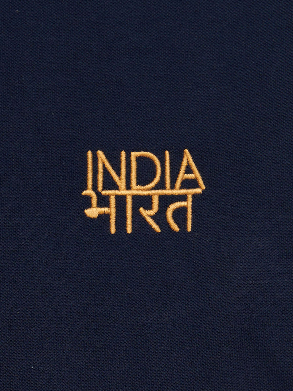 Bharat-India Polo Shirt - Navy