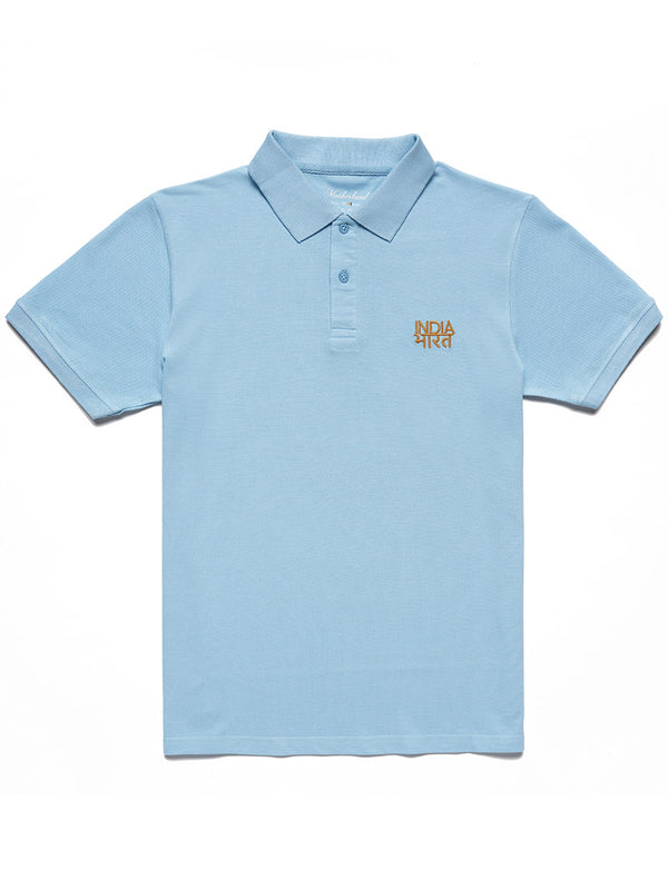 Bharat-India Polo Shirt - Blue
