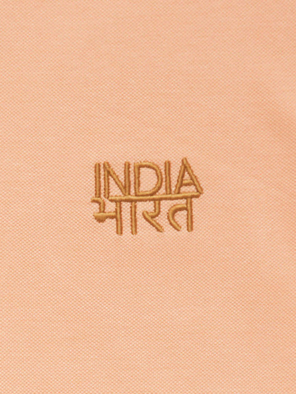 Bharat-India Polo Shirt - Pink