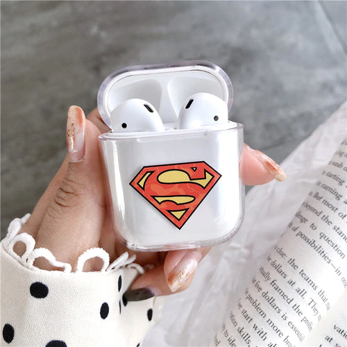 Superman Airpods Case With Fancy Design and Strong Build Quality - bezzy-tech