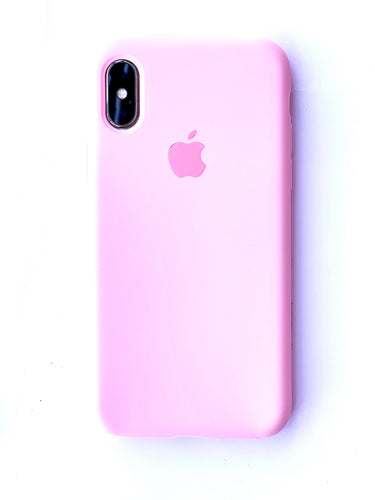 Elevated Rose Pink Soft Silicone iPhone Protective Case - bezzy-tech