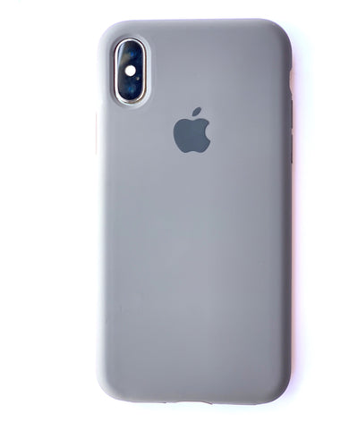 Rugged Grey Soft Silicone iPhone Protective Case - bezzy-tech