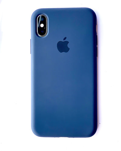 Royal Blue Soft Silicone iPhone Protective Case - bezzy-tech
