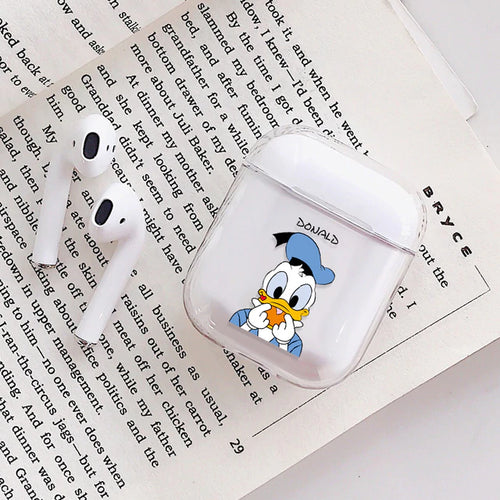 Donald Duck Airpods Case With Fancy Design and Strong Build Quality - bezzy-tech