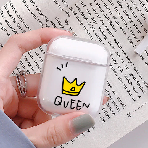 Royal Queen Airpods Case With Fancy Design and Strong Build Quality - bezzy-tech